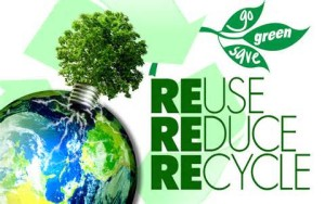 Earth Day ewaste and paper shredding recycling event