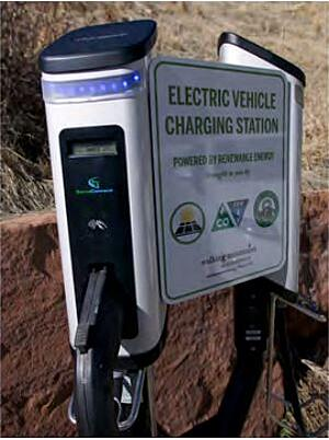 Electric Vehicle Charging Station Vail Colorado
