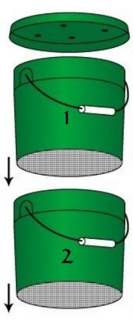 How To Build Worm Compost Bin Out of 5 Gallon Buckets