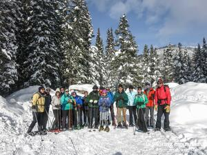 Snowshoe Trails Tennessee Pass Colorado