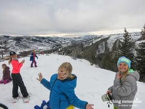 Snowshoe trail Avon Colorado Avon Overlook