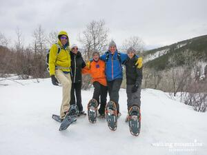 Snowshoe Hikes Edwards Colorado Cordillera and Lake Creek