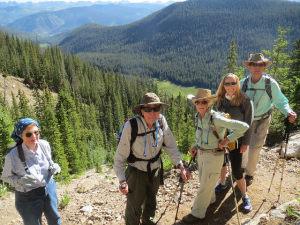 Hiking with Walking Mountains