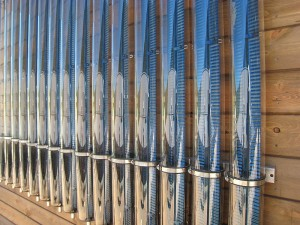 Solar Thermal evacuated tube collectors