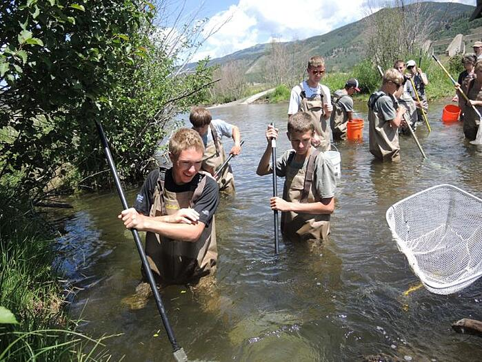 National Forest Service High School Research Projects with Walking Mountains Science Center
