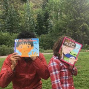Nature Books Reading Outside