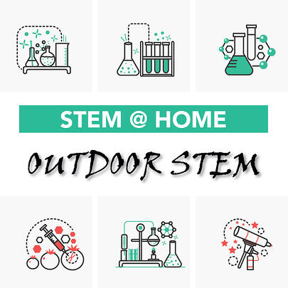 STEM activities to do outside with kids