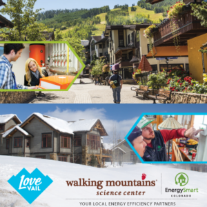 Town of Vail Sustainablity with Walking Mountains Science Center