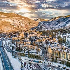 Vail-Colorado-Winter-Drone-Photo