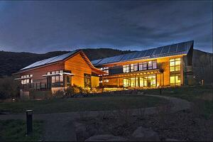 Walking Mountains Science Center LEED Platinum Certified Sustainability Vail