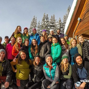 Walking Mountains Staff on a Colorado Hut Trip