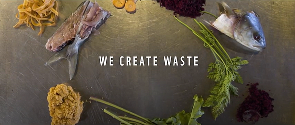 we create waste